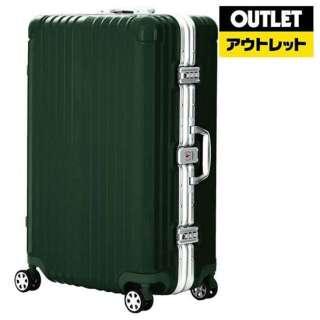 【アウトレット品】 フレームタイプスーツケースBLADE (90L) グリーン 5601-71H090GR 【数量限定品】