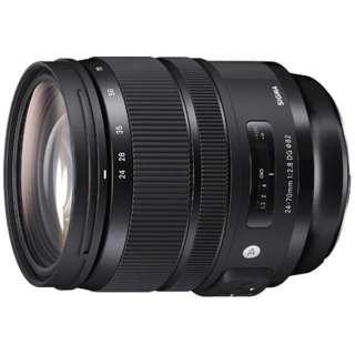 カメラレンズ 24-70mm F2.8 DG OS HSM Art ブラック [シグマ /ズームレンズ]