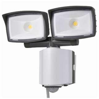 【屋外・屋内兼用】コンセント式多機能型LEDセンサーライト(2灯) OSE-LS2200
