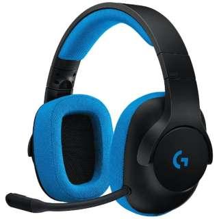 G233 ゲーミングヘッドセット PRODIGY ブラック [φ3.5mmミニプラグ /両耳 /ヘッドバンドタイプ]