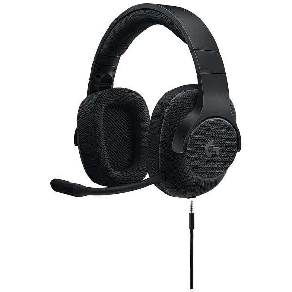 G433BK ゲーミングヘッドセット ブラック [φ3.5mmミニプラグ+USB /両耳 /ヘッドバンドタイプ]