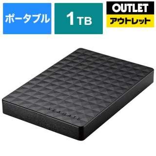 【アウトレット品】 外付けHDD  [ポータブル型 /1TB] 1TEAP2 ブラック 【生産完了品】
