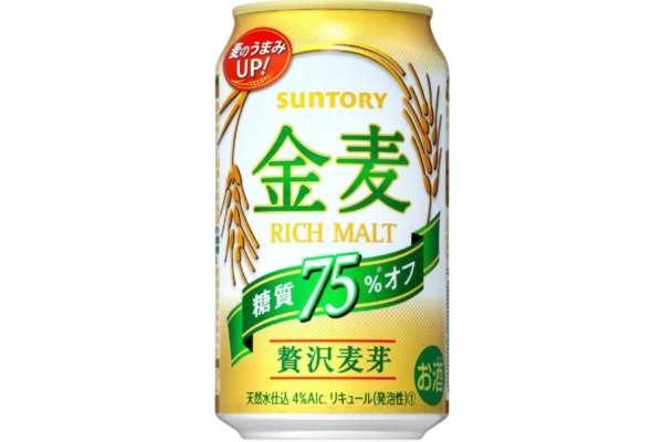サントリー「金麦 糖質オフ(新ジャンル)」350ml/24本