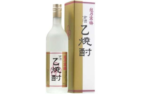 新潟県「越乃寒梅」(米焼酎)