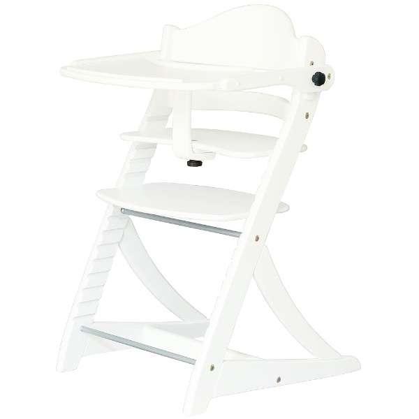 すくすくチェア EN テーブル&ガード付 ホワイト