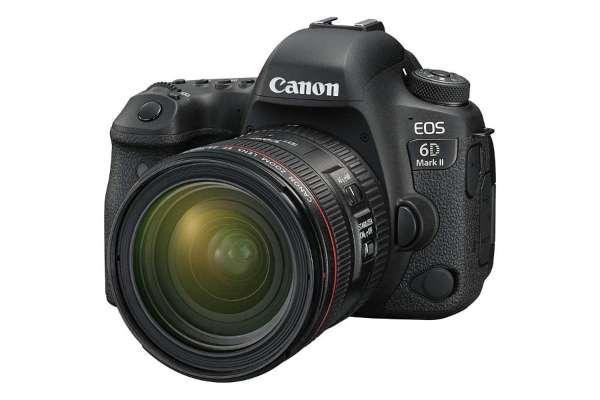 キヤノン「EOS 6D Mark II」EF24-70L IS USM レンズキット