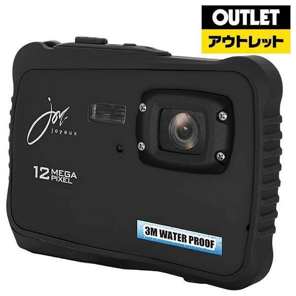 【アウトレット品】 JOY500C3 コンパクトデジタルカメラ ブラック [防水] 【生産完了品】
