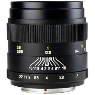 カメラレンズ 35mm F2.0 CREATOR ブラック [ペンタックスK /単焦点レンズ]
