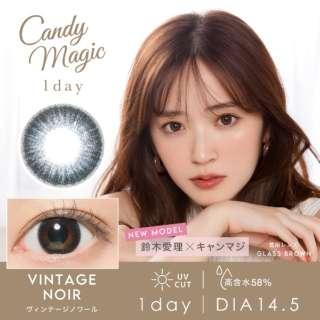 キャンディーマジックワンデーアクア ヴィンテージノワール(10枚入)[candymagic/カラコン]