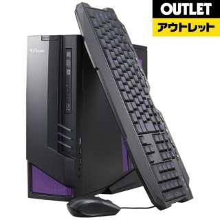 【アウトレット品】 ゲーミングデスクトップPC [Win10 HOME・Core i7・HDD 1TB・SSD 120GB・メモリ 8GB・GTX970] LGI767M8S1H1X97DW10 【生産完了品】
