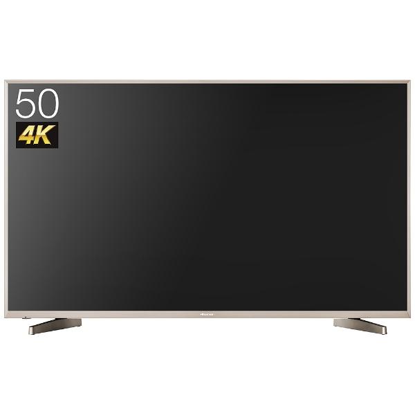 50V型 地上・BS・110度CSチューナー内蔵 4K対応液晶テレビ HJ50N5000 (別売USB HDD録画対応)