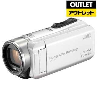 【アウトレット品】 ビデオカメラ Everio(エブリオ) [メモリ 32GB/フルハイビジョン] GZ-F200 パールホワイト 【生産完了品】