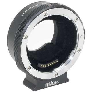 マウントアダプター MBEFEBT5(SONY E用電子接点付キヤノンEF Ver5 T)【ボディ側:ソニーE/レンズ側:キヤノンEF】