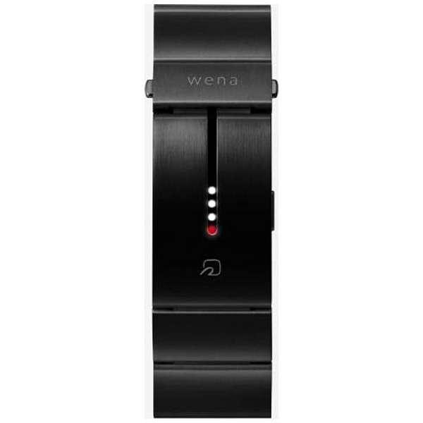 腕時計用バンド 「wena wrist Band Premium Black」 WN-WB01B