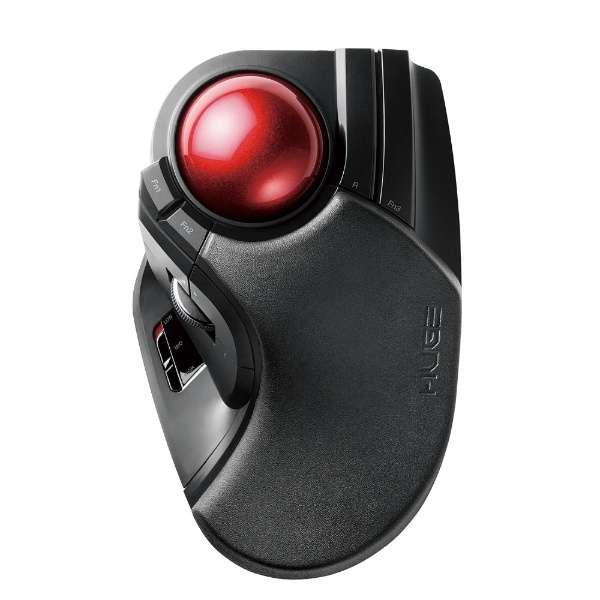 M-HT1DRBK マウス HUGE ブラック [光学式 /8ボタン /USB /無線(ワイヤレス)]