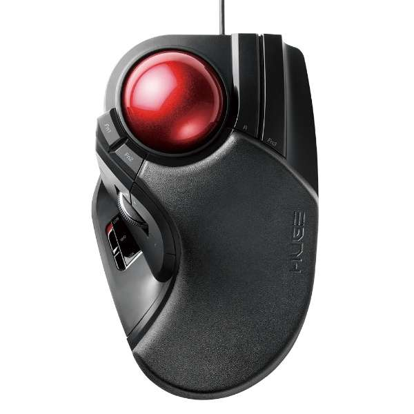 M-HT1URBK マウス HUGE ブラック [光学式 /8ボタン /USB /有線]