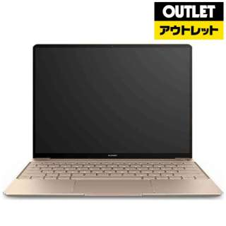 【アウトレット品】 13.0型ノートパソコン [Win10 Home・Core i7・SSD 512GB・メモリ 8GB] MateBook X WW19AHI78S51NGOプレステージゴールド 【生産完了品】