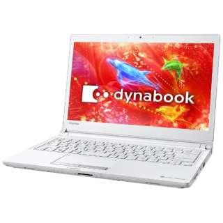 PRX73DWPBJA ノートパソコン dynabook (ダイナブック) プラチナホワイト [13.3型 /intel Core i5 /SSD:256GB /メモリ:4GB /2017年7月モデル]