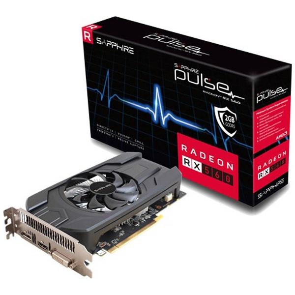 SAPPHIRE PULSE RADEON RX 560 2G GDDR5 [PCIExp 2GB]