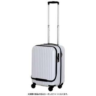 スーツケース 30L カーボンホワイト ESC2051-48 [TSAロック搭載]