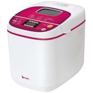 HBS-100W ホームベーカリー ふっくらパン屋さん ホワイト・レッド [1.0斤]