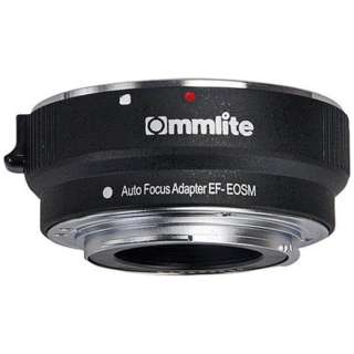 マウントアダプター (カメラ側:キヤノンEFマウント、レンズ側:キヤノンEF) CM-EF-EOSM