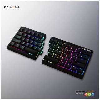 MD600-BUSPDAAT1 ゲーミングキーボード Cherry MX 茶軸 Barocco ブラック [USB /有線]