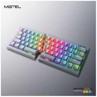 MD600-PUSPDWWT1 ゲーミングキーボード 静音赤軸 Barocco ホワイト [USB /有線]
