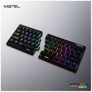 MD600-PUSPDAAT1 ゲーミングキーボード 静音赤軸 Barocco ブラック [USB /有線]