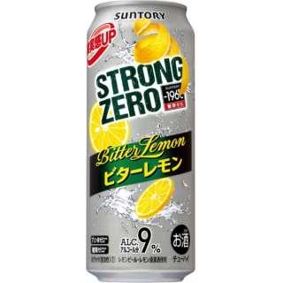 -196℃ ストロングゼロ ビターレモン (500ml/24本)【缶チューハイ】