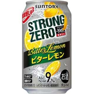 -196℃ ストロングゼロ ビターレモン (350ml/24本)【缶チューハイ】