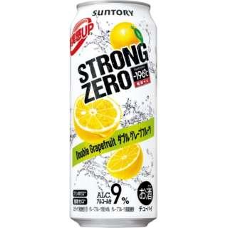 -196℃ ストロングゼロ ダブルグレープフルーツ (500ml/24本)【缶チューハイ】