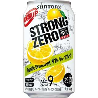 -196℃ ストロングゼロ ダブルグレープフルーツ (350ml/24本)【缶チューハイ】