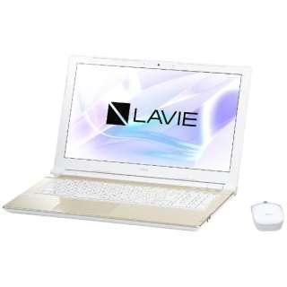 PC-NS150HAG ノートパソコン LAVIE Note Standard シャンパンゴールド [15.6型 /intel Celeron /HDD:1TB /メモリ:4GB /2017年7月モデル]