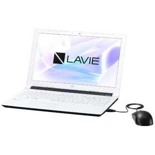PC-NS100H1W ノートパソコン LAVIE Note Standard ホワイト [15.6型 /intel Celeron /HDD:500GB /メモリ:4GB /2017年7月モデル]