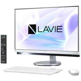 PC-DA770HAW デスクトップパソコン LAVIE Desk ファインホワイト [23.8型 /HDD:3TB /メモリ:8GB /2017年夏]