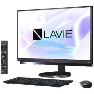 PC-DA770HAB デスクトップパソコン LAVIE Desk ファインブラック [23.8型 /HDD:3TB /メモリ:8GB /2017年夏]