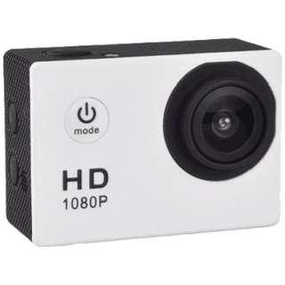 AC150 アクションカメラ ホワイト [フルハイビジョン対応 /防水]