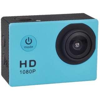AC150 アクションカメラ ブルー [フルハイビジョン対応 /防水]