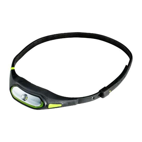 LEDネックライト 「LED SPORTS LIGHT」(50lm) DOP-SL600-GR ブラック×グリーン