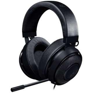 RZ04-02050400-R3M1 ゲーミングヘッドセット Kraken ブラック [φ3.5mmミニプラグ /両耳 /ヘッドバンドタイプ]