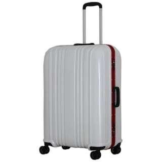 スーツケース 88L カーボンホワイト ESC1046-68 [TSAロック搭載]