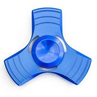 ハンドスピナー アルミモデル ブルー