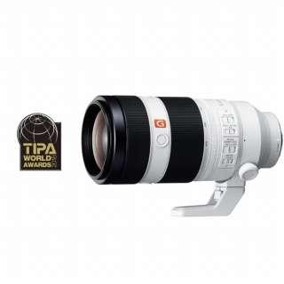 カメラレンズ FE 100-400mm F4.5-5.6 GM OSS G Master ホワイト SEL100400GM [ソニーE /ズームレンズ]