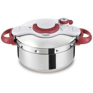 ≪IH対応≫ 圧力鍋 「クリプソ ミニット イージー」(4.5L) P4620669 レッド