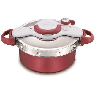≪IH対応≫ 圧力鍋 「クリプソ ミニット デュオ」(5.2L) P4605136 レッド