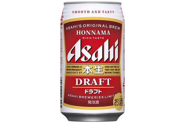 アサヒ「本生ドラフト」350ml/24本