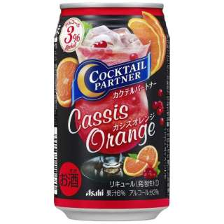 Cocktail Partner Cassis Orange 350 Ml 24 Canned Chuhai Asahi