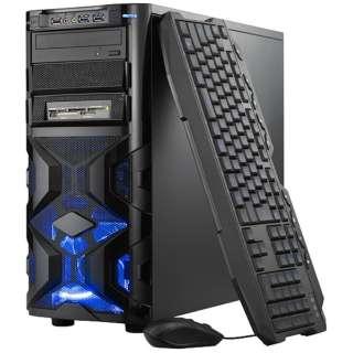 SPR-I74G5W1H17G ゲーミングデスクトップパソコン ブラック [モニター無し /HDD:1TB /SSD:120GB /メモリ:8GB /2017年7月]