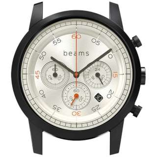 ハイブリッドスマートウォッチ wena wrist Chronograph Premium Black WD beams edition WN-WC02B-H